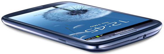 Samsung Galaxy S3 Pebble Blue