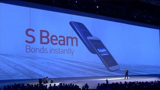 Samsung Galaxy S III 3 premiera smartfona S Beam
