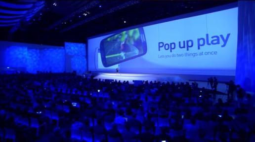 Samsung Galaxy S III 3 premiera smartfona Pop Up Play