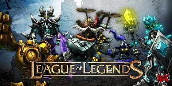 League of Legends gra logo