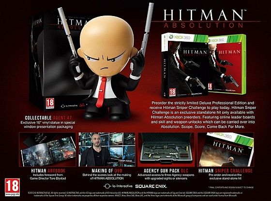 Hitman: Absolution Deluxe Professional Edition gra