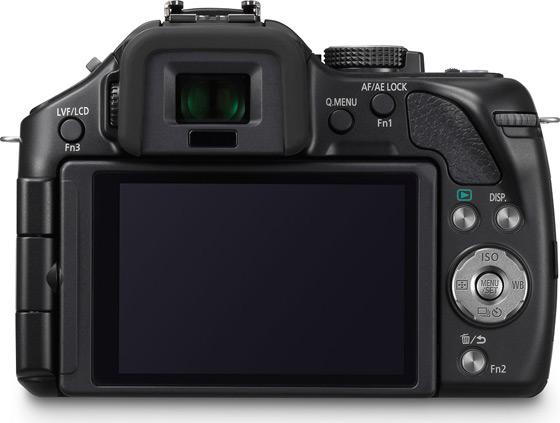 Panasonic Lumix G5 aparat cyfrowy z wymienną optyką widok tył ekran przyciski