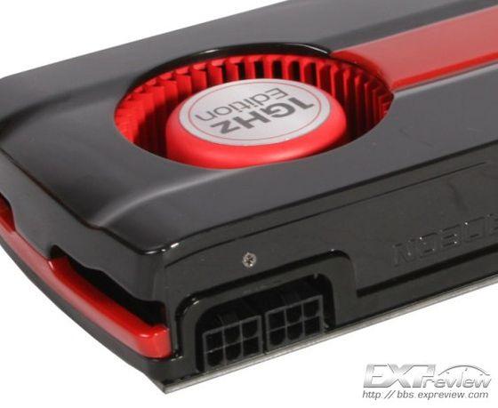 AMD Radeon HD 7950 GHz Edition karta graficzna zdjęcie zasilanie