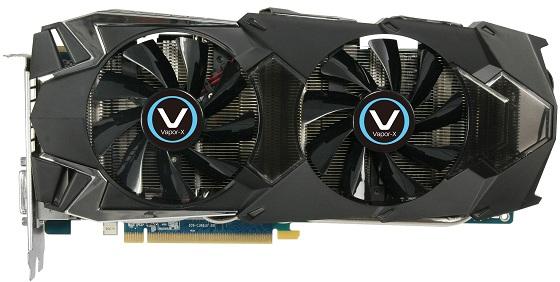 Sapphire Radeon HD 7970 3GB Vapor-X Edition karta graficzna zdjęcie chłodzenie widok z góry