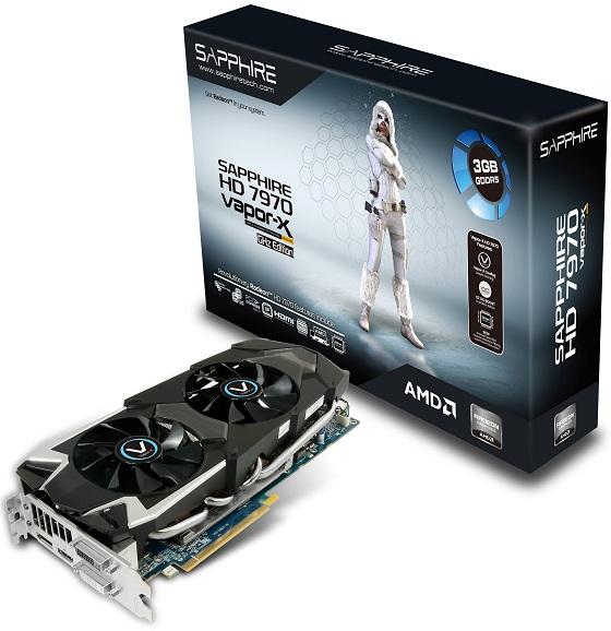 Sapphire Radeon HD 7970 3GB Vapor-X Edition karta graficzna zdjęcie opakowanie