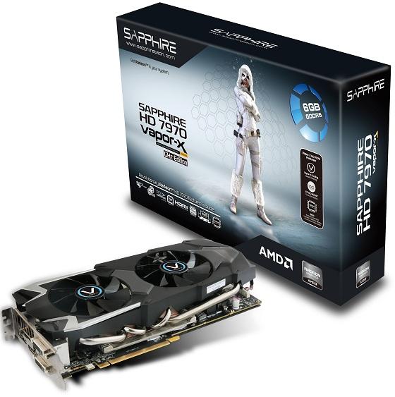 Sapphire Radeon HD 7970 6GB Vapor-X Edition karta graficzna zdjęcie opakowanie