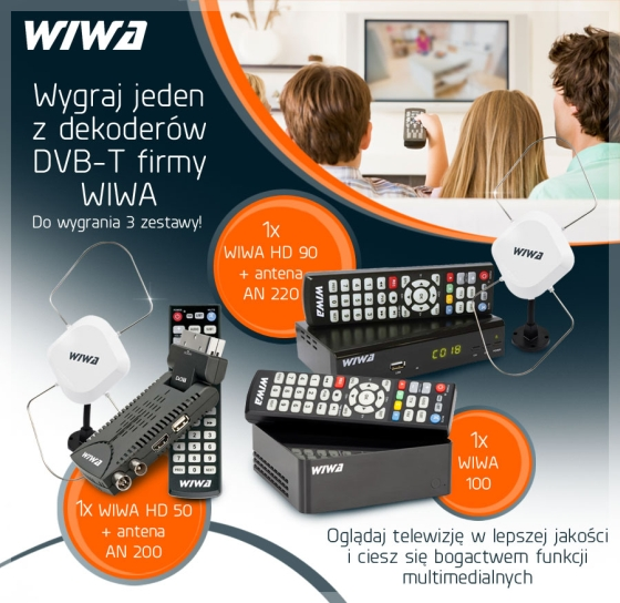 WIWA Tunery DVB-T konkurs Anteny