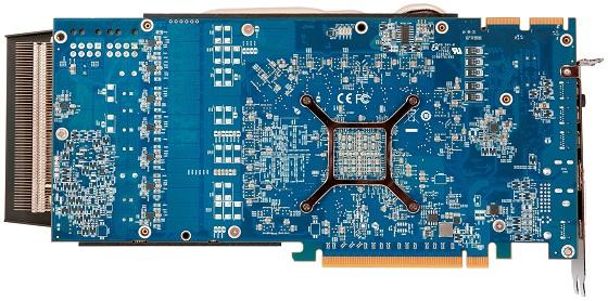HIS 7970 X karta graficzna zdjęcie laminat rewers