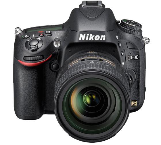 Nikon D600 widok przód
