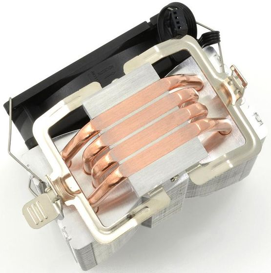 SilentiumPC Spartan PRO HE924 chłodzenie dla procesorów zdjęcie stopa