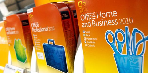 Microsoft Office 2010 dostępne pakiety