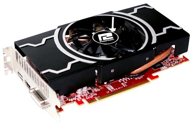 PowerColor Radeon HD 7850 Filing Force karta graficzna zdjęcie