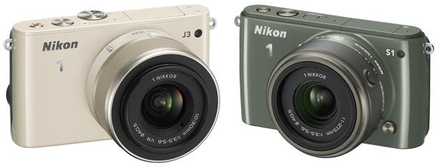 Nikon 1 J3 Nikon 1 S1 aparaty systemowe obiektyw