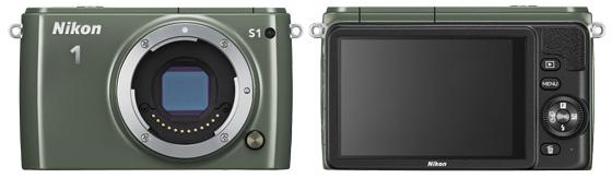 Nikon 1 S1 aparat cyfrowy widok przód tył