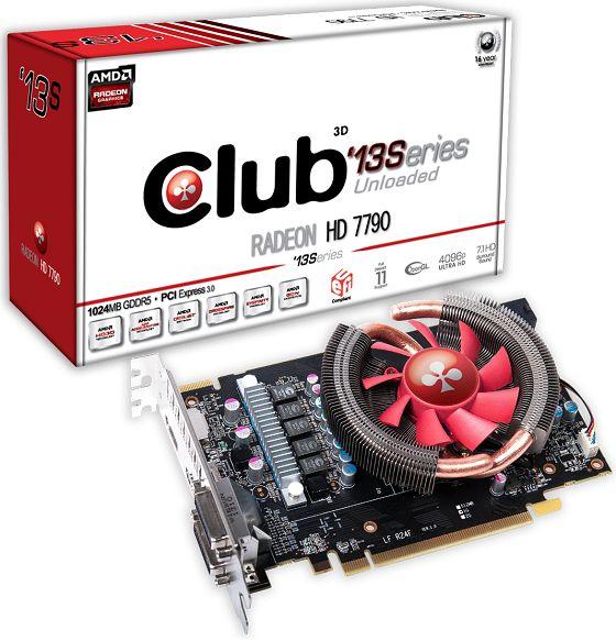 Club3D Radeon HD 7790 '13Series karta graficzna zdjęcie opakowanie