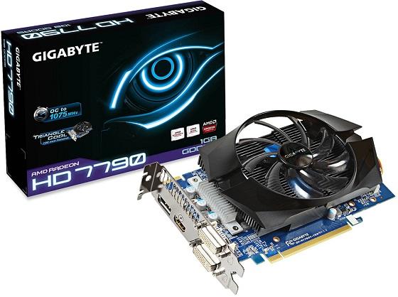 Gigabyte Radeon HD 7790 karta graficzna zdjęcie opakowanie