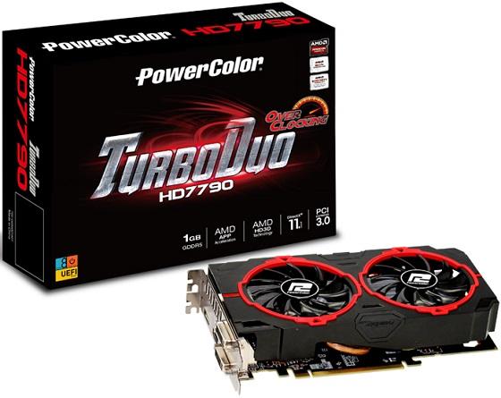 PowerColor Radeon HD 7790 TurboDuo karta graficzna zdjęcie opakowanie