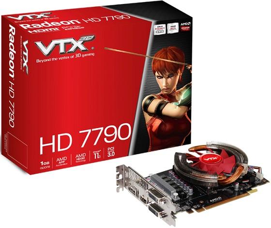 VTX3D Radeon HD 7790 karta graficzna zdjęcie opakowanie