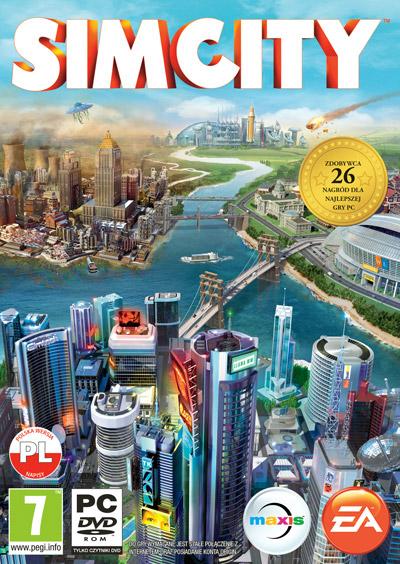 Okładka gry SimCity