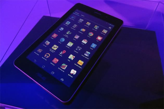 Asus Fonepad menu aplikacje