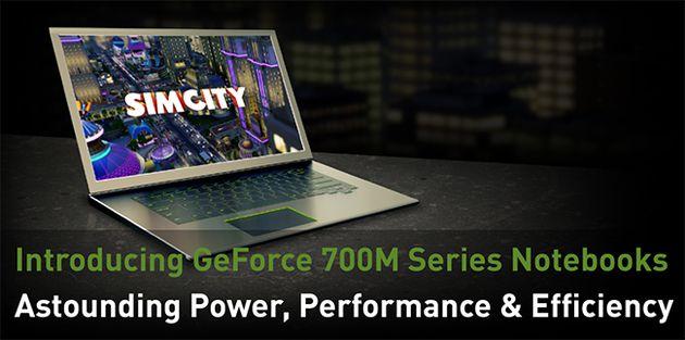 Nvidia GeForce GT 700M karty graficzne grafika