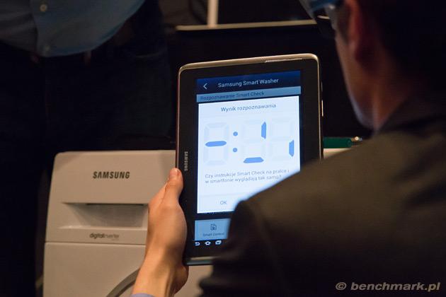 Samsung Smart Check odczytywanie kodu