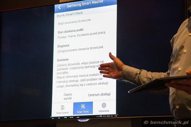 Samsung Smart Check diagnoza