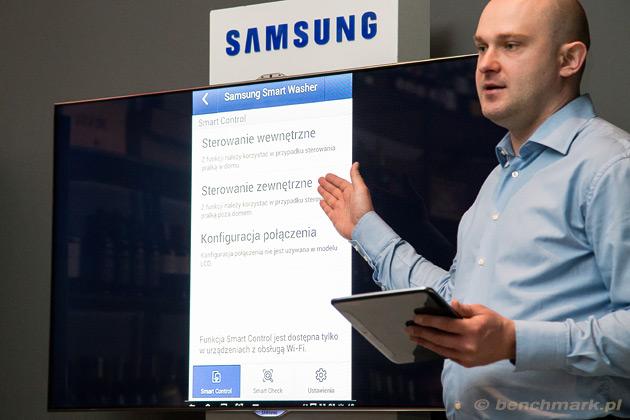 Samsung Smart Washer aplikacja