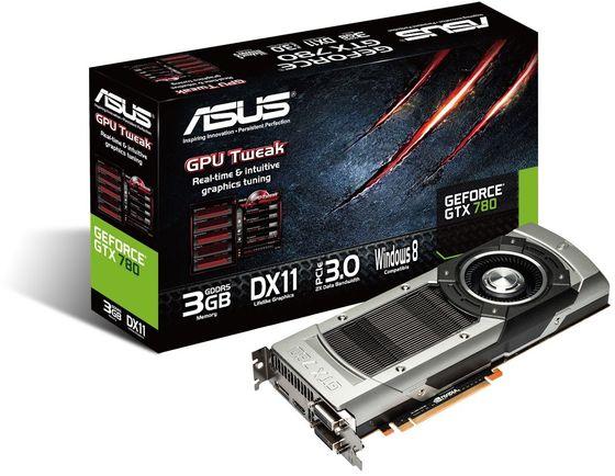 ASUS GeForce GTX 780 karta graficzna zdjęcie opakowanie