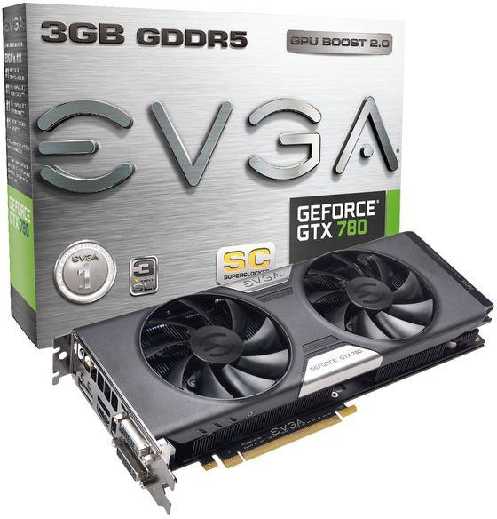 EVGA GeForce GTX 780 ACX SC karta graficzna zdjęcie opakowanie