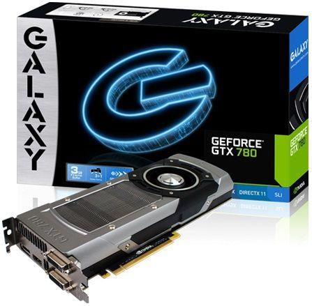 Galaxy GeForce GTX 780 karta graficzna zdjęcie opakowanie