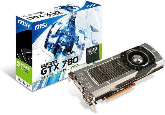 MSI GeForce GTX 780 karta graficzna zdjęcie opakowanie