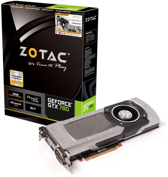 Zotac GeForce GTX 780 karta graficzna zdjęcie opakowanie