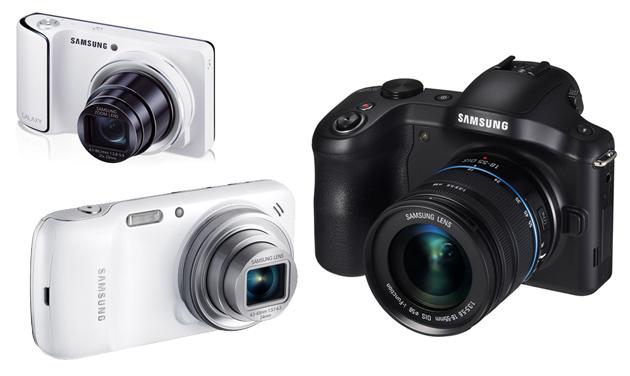 Rodzina aparatów cyfrowych Galaxy z Androidem