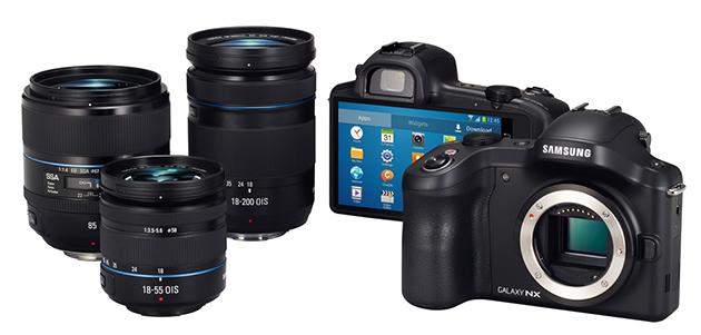 Samsung Galaxy NX system fotografczny