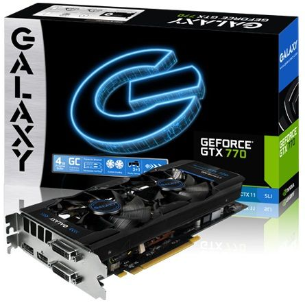 Galaxy GeForce GTX 770 GC 4GB karta graficzna zdjęcie opakowanie