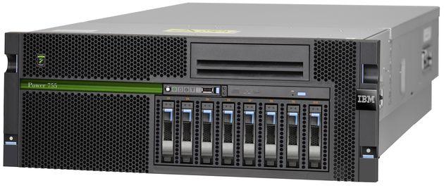 IBM Power 755 serwer zdjęcie