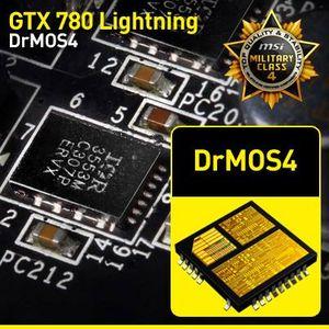 MSI GeForce GTX 780 Lightning karta graficzna DrMOS4 grafika