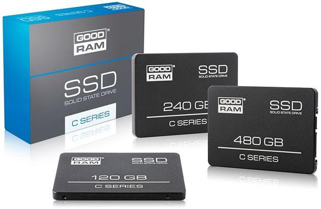 Wilk Elektronik GOODRAM C Series dyski SSD zdjęcie opakowanie