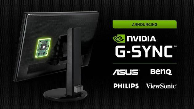 Nvidia G-SYNC technologia