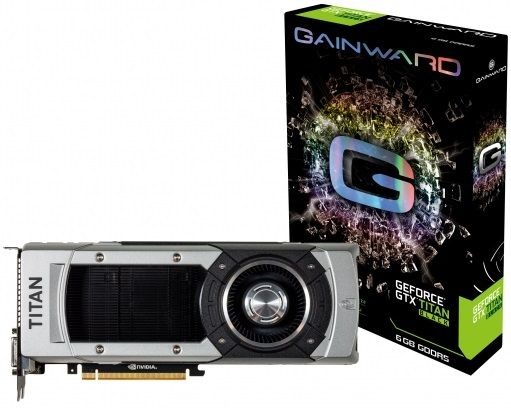 Gainward GeForce GTX Titan Black karta graficzna
