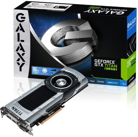 Galaxy GeForce GTX Titan Black karta graficzna