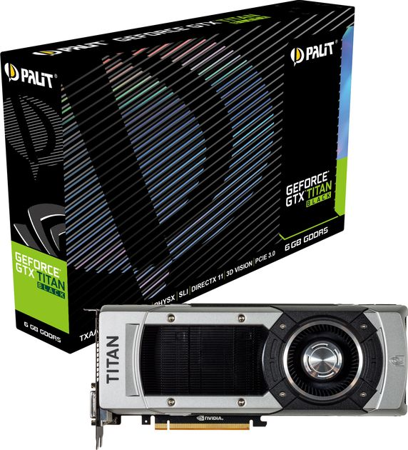 Palit GeForce GTX Titan Black karta graficzna