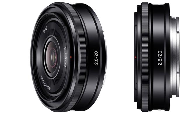 Sony E 20 mm f/2,8 obiektyw