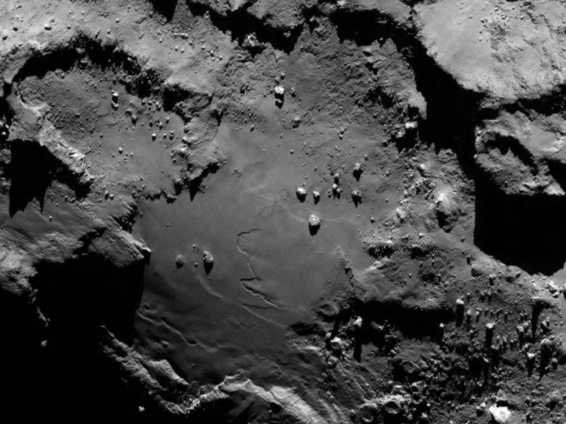 Kometa widziana ze 130 km