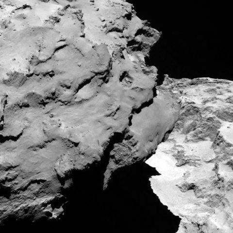 Kometa widziana ze 120 km