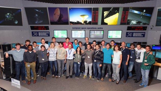 Rosetta centrum kontroli nawigatorzy