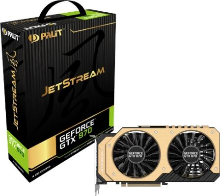 Palit GeForce GTX 970 JetStream karta graficzna