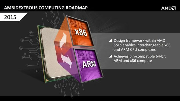 AMD Project Skybridge procesor