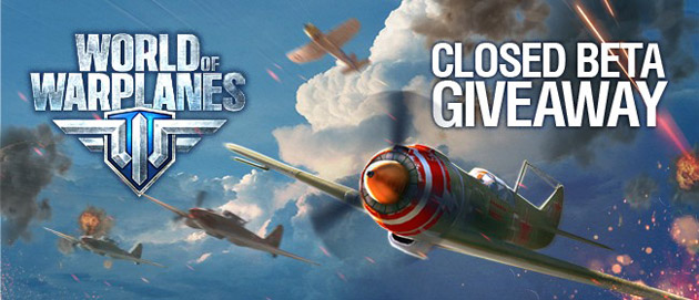World of Warplanes testy beta - kody
